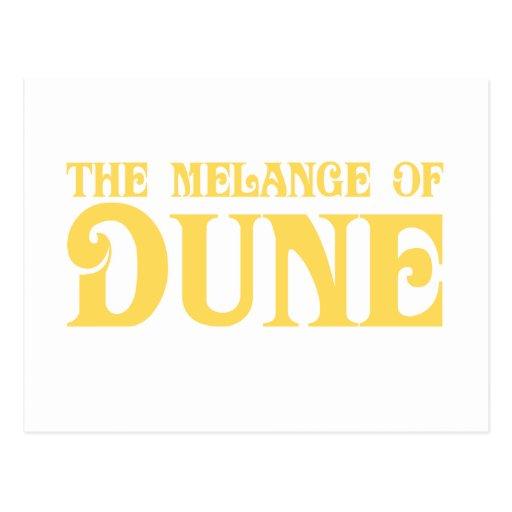 The Melange of Dune Postcards