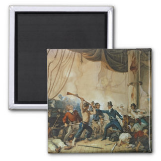 The Melee on Board the Chesapeake, 1813 Magnet