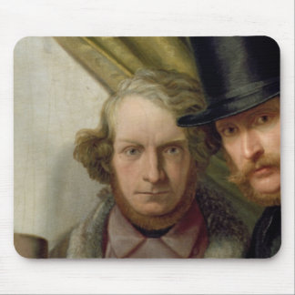 The Members of the Hamburg Artist's Club, 1840 Mouse Pad