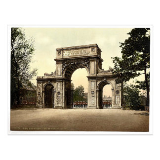 The Memorial Arch, New Brompton, England magnifice Postcard
