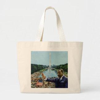 The Memorial Speech 2001 Large Tote Bag