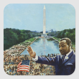 The Memorial Speech 2001 Square Sticker