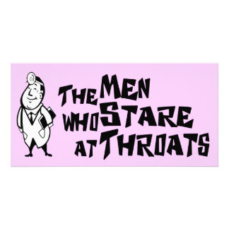 The Men Who Stare At Throats Card