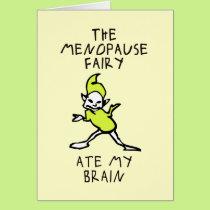 The Menopause Fairy Card