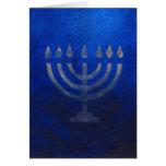 The Menorah Greeting Card