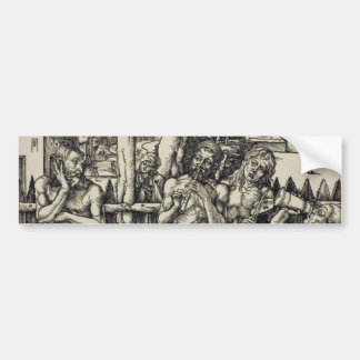 The Men's Bath by Albrecht Durer Bumper Sticker