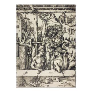 The Mens Bath by Albrecht Durer Card