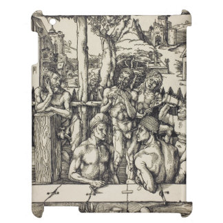 The Men's Bath by Albrecht Durer iPad Cover