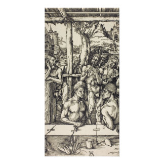The Mens Bath by Albrecht Durer Photo Greeting Card