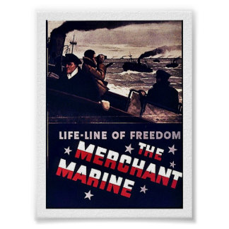 The Merchant Marine Poster