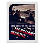 The Merchant Marine Posters