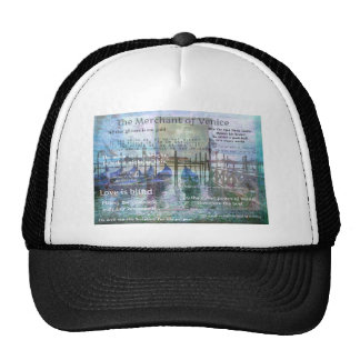 The Merchant of Venice Shakespeare quotes Trucker Hat