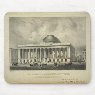 The Merchant's Exchange New York (1837) Mouse Pad