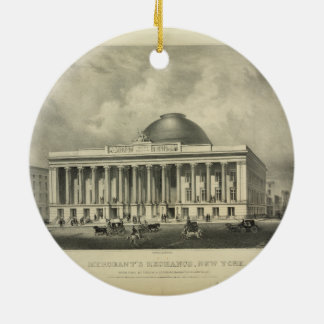 The Merchant's Exchange New York (1837) Christmas Tree Ornaments