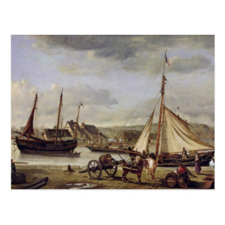 The Merchant's Quay at Rouen, 1834 Post Cards