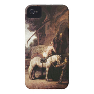The Merciful Samaritan by Rembrandt Blackberry Bold Case