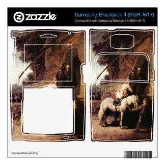 The Merciful Samaritan by Rembrandt Samsung Blackjack II Skin