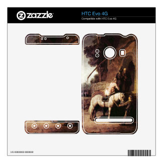 The Merciful Samaritan by Rembrandt Decals For The HTC Evo 4G