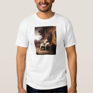 The Merciful Samaritan by Rembrandt T Shirts
