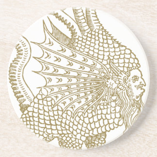 The Mercurial demon of the alchemic philosophers Drink Coaster