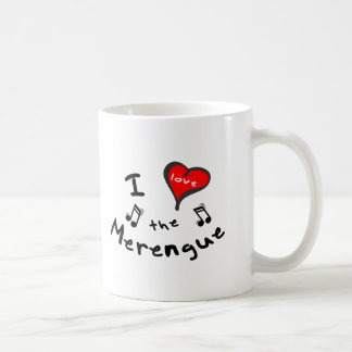 the Merengue Gifts - I Heart the Merengue Coffee Mug