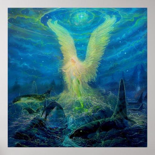 The Mermaid Angel Princess Poster