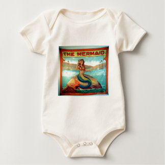 the mermaid baby bodysuit