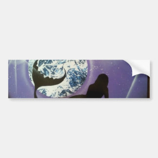 The Mermaid Bumper Sticker