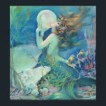 """The Mermaid by Henry Clive Canvas Print<br><div class=""""desc"""">The Mermaid by Henry Clive</div>"""