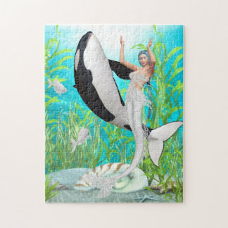 The Mermaid Dance With An Orca Puzzle