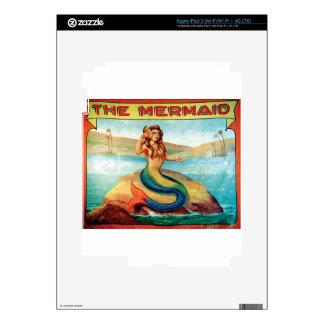 The Mermaid iPad 3 Decals