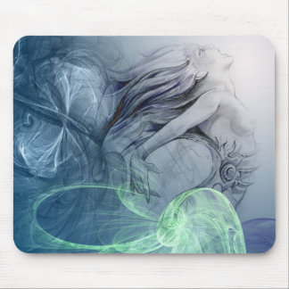The mermaid mouse pad