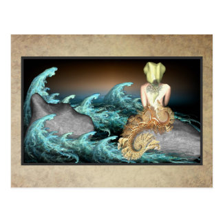 The Mermaid Postcard