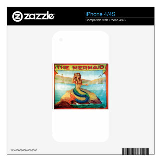 The Mermaid Skins For iPhone 4S