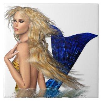 The Mermaid Ceramic Tile