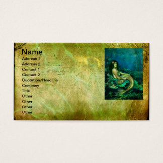 The Mermaids Chair Business Card