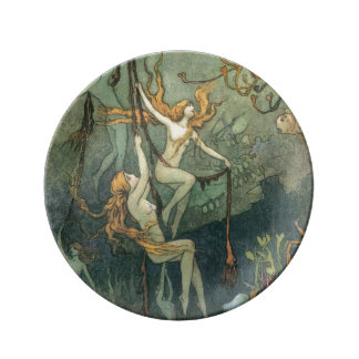 The Mermaids Plate