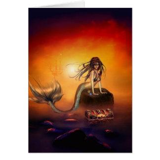 The Mermaids Treasure Card