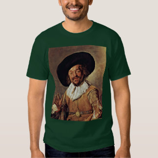 The Merry Drinker. By Frans Hals Tee Shirt