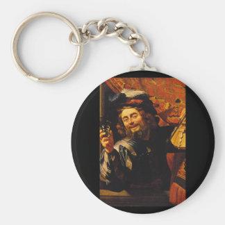 The Merry Fiddler', Gerard_Dutch Masters Keychain