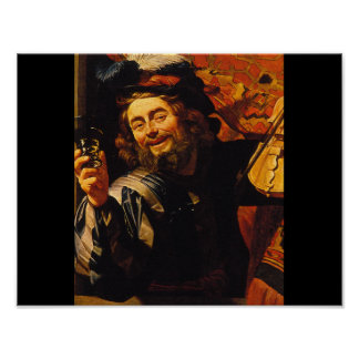 The Merry Fiddler', Gerard_Dutch Masters Poster