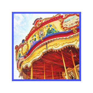 The Merry-go-round canvas