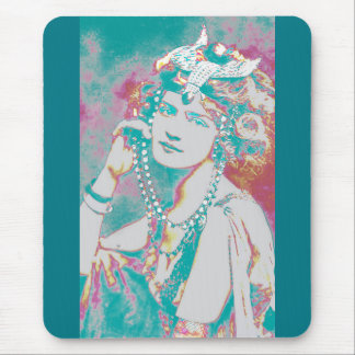 The Merry Widow Belle Epoque Design Mouse Pad