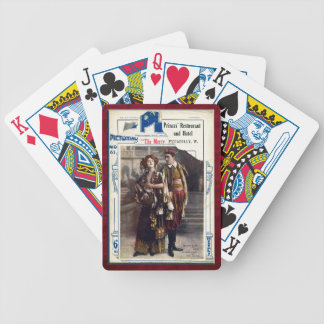 The Merry Widow Bicycle Playing Cards
