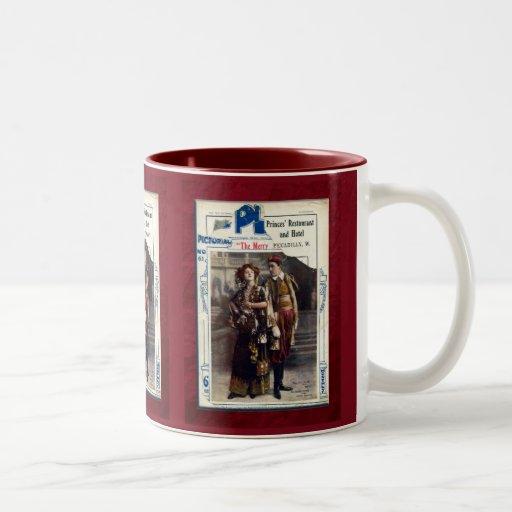 The Merry Widow Two-Tone Coffee Mug