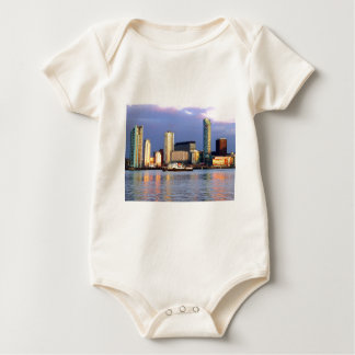 The Mersey Ferry & LIverpool Waterfront Baby Bodysuit