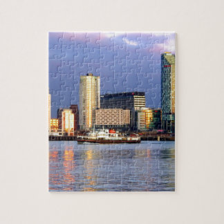 The Mersey Ferry & LIverpool Waterfront Jigsaw Puzzle