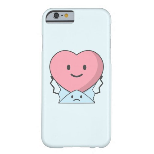 The message cant explain hearts feeling barely there iPhone 6 case
