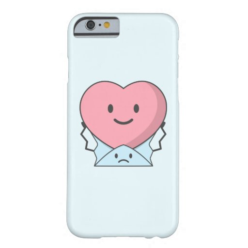 The message can't explain hearts feeling barely there iPhone 6 case