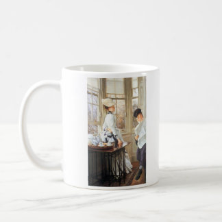 The messages read by James Tissot Coffee Mug